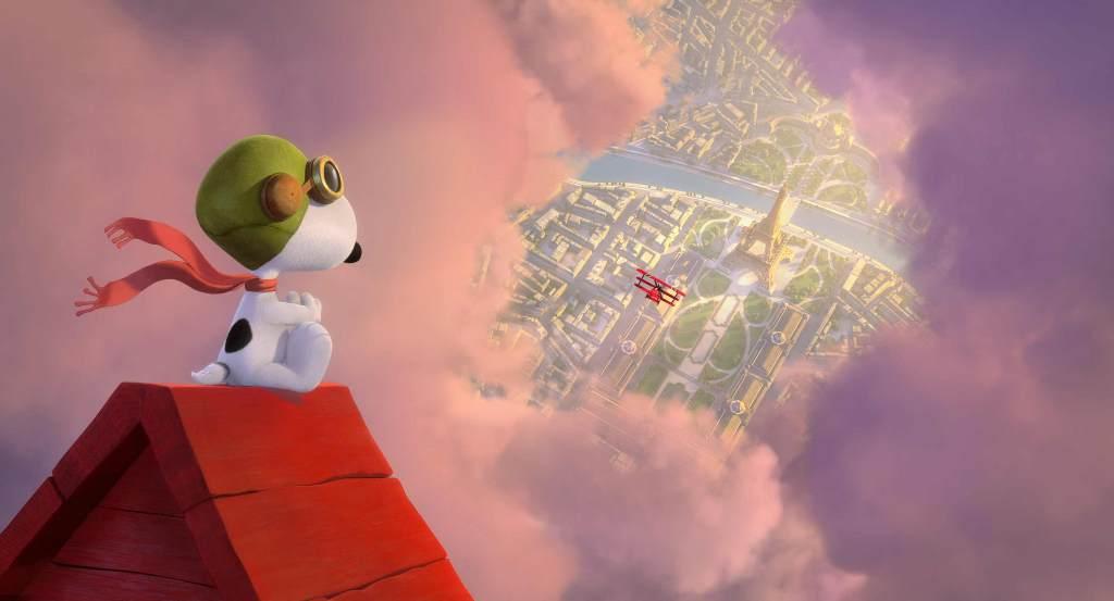 Snoopy & Friends - Il film dei Peanuts: Snoopy in una scena del film animato