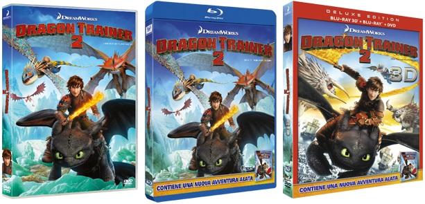 Le cover homevideo di Dragon Trainer 2