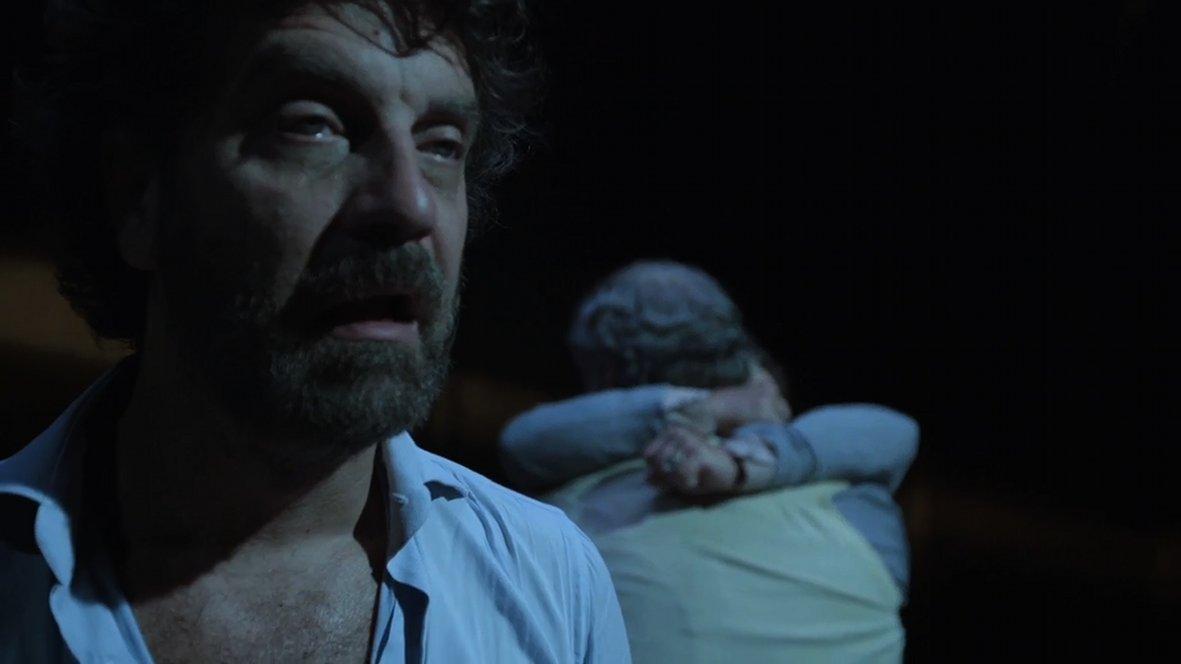 Prima di andar via: Filippo Gili in una cupa immagine del film