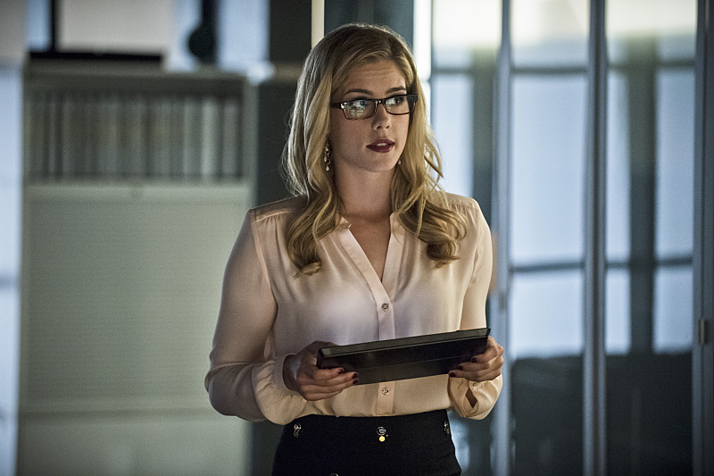 Arrow: l'attrice Emily Bett Rickards in Draw Back Your Bow