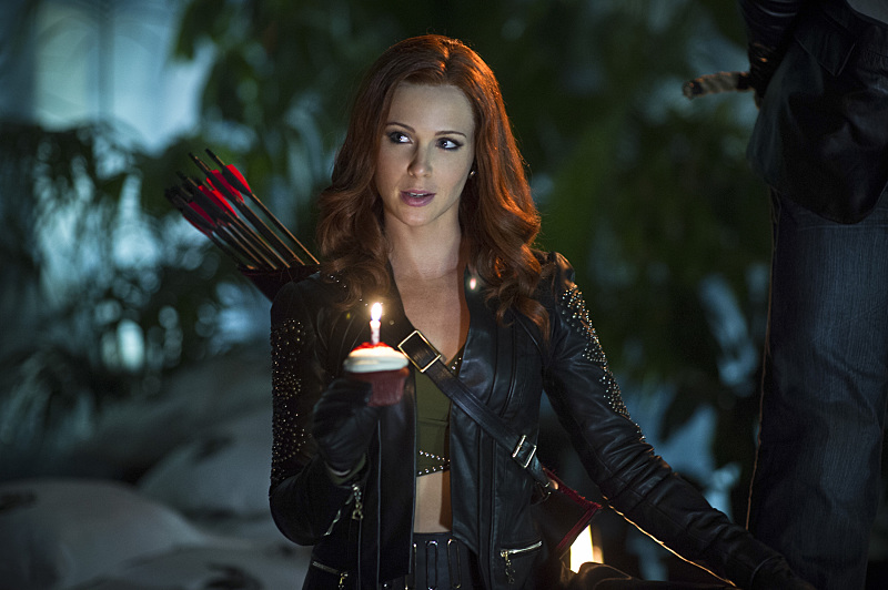 Arrow: Amy Gumenick in Draw Back Your Bow