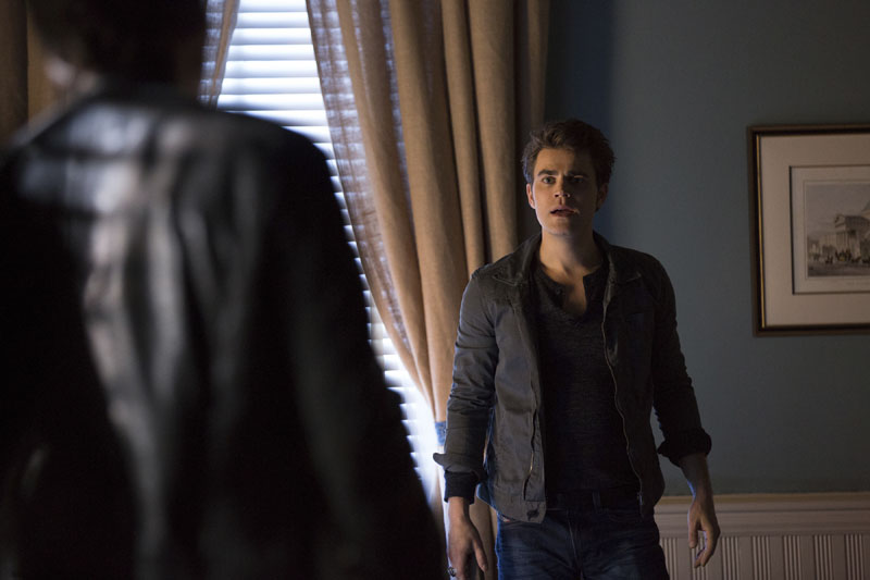 The Vampire Diaries: l'attore Paul Wesley in una scena dell'episodio intitolato Fade Into You