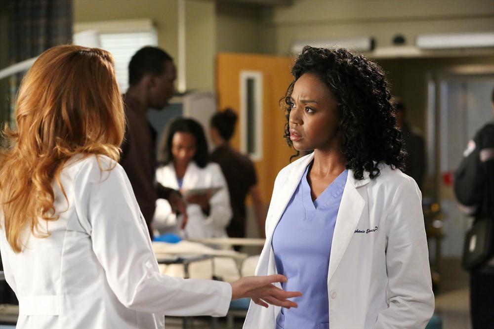 Grey's Anatomy: l'attrice Jerrika Hinton nella puntata Risk