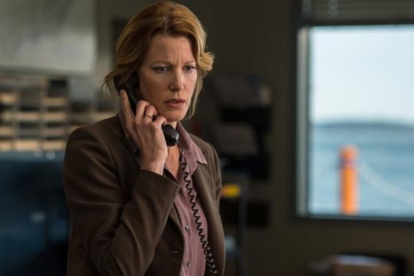 Gracepoint: l'attrice Anna Gunn in una scena del settimo episodio