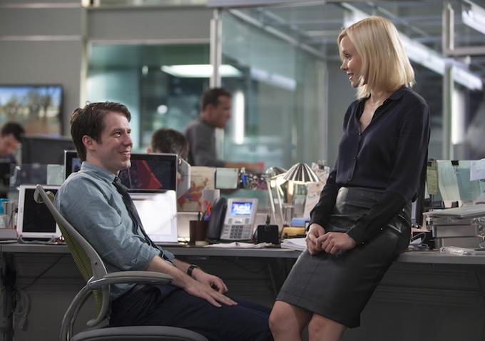 The Newsroom: John Gallagher Jr. e Alison Pill nella puntata Contempt