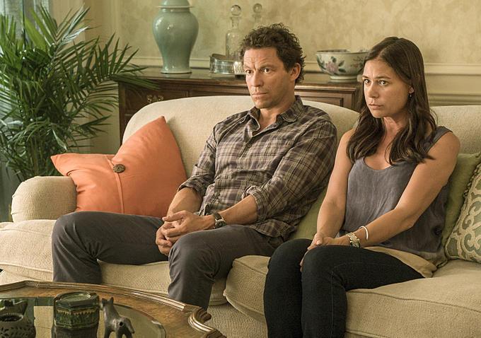 The Affair: Dominic West e Maura Tierney in una scena del settimo episodio della serie