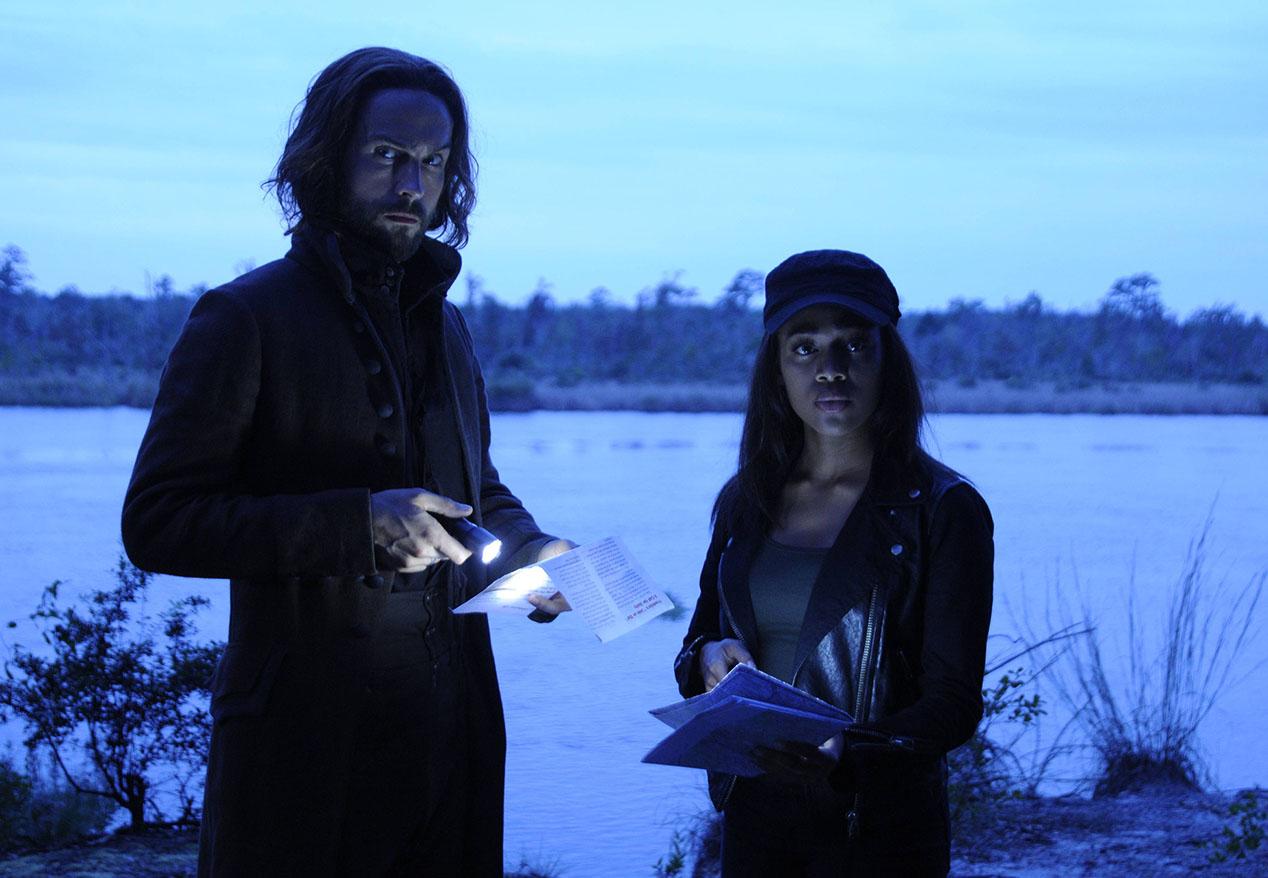Sleepy Hollow: i protagonisti Tom Mison e Nicole Beharie in Magnum Opus