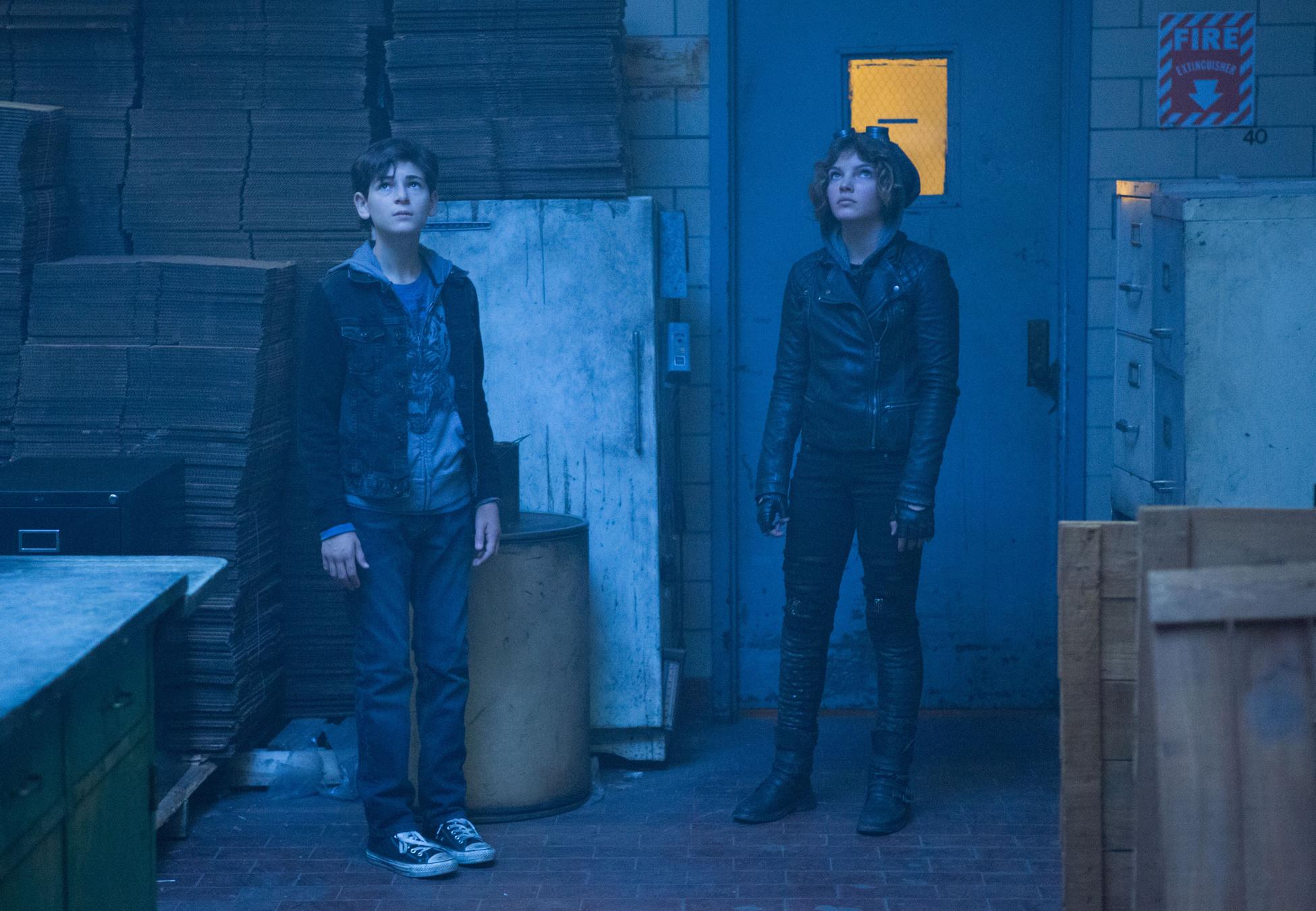 Gotham: David Mazouz e Camren Bicondova in LoveCraft