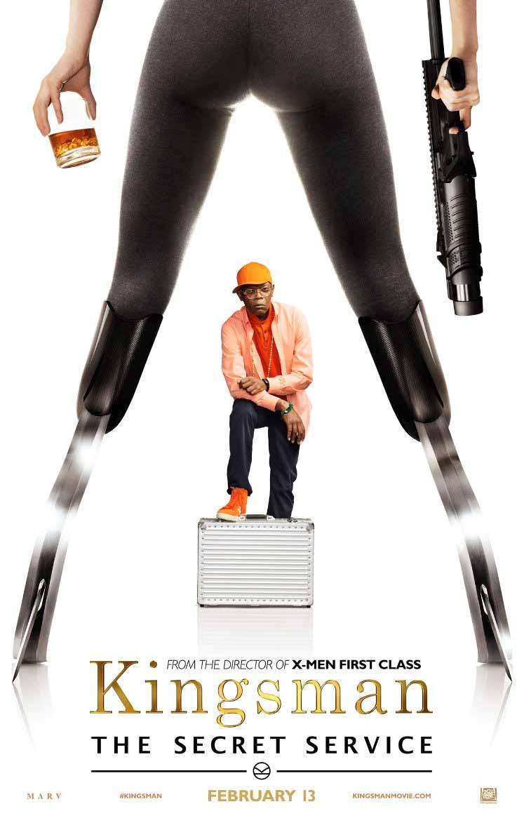 Kingsman: Secret Service - Il character poster con Samuel L. Jackson