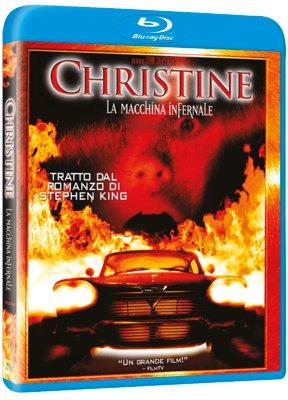 La cover del blu-ray di Christine, la macchina infernale