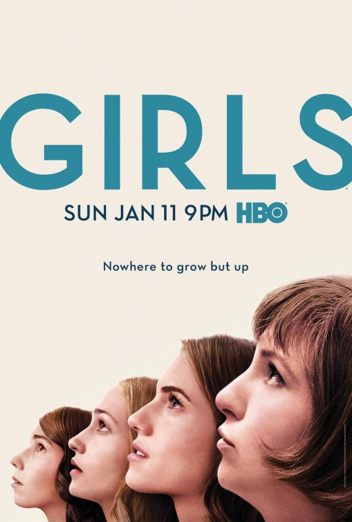 Girls: una locandina per la quarta stagione della serie