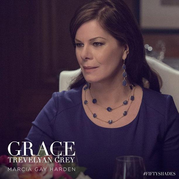 Cinquanta sfumature di grigio: Marcia Gay Harden è Grace Trevelyan Grey