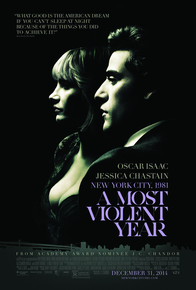 A Most Violent Year: un nuovo poster