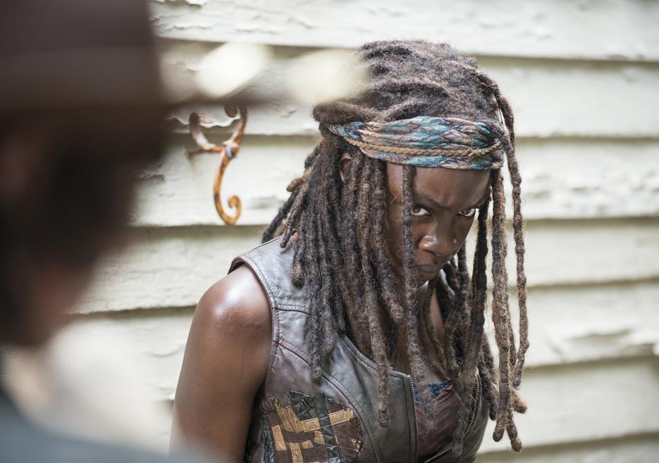 The Walking Dead: l'attrice Danai Gurira nella puntata intitolata Coda