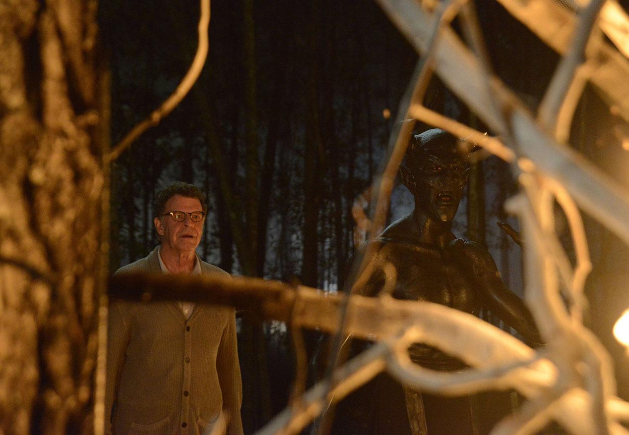 Sleepy Hollow: John Noble in una scena della puntata intitolata The Akeda