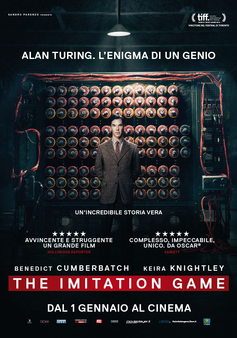 Locandina italiana definitiva di The Imitation Game