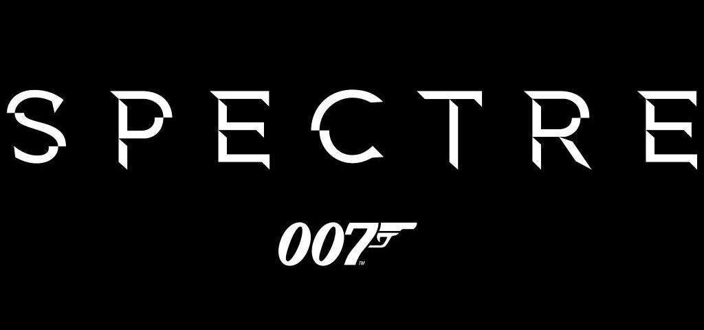 Spectre - il logo del film di 007