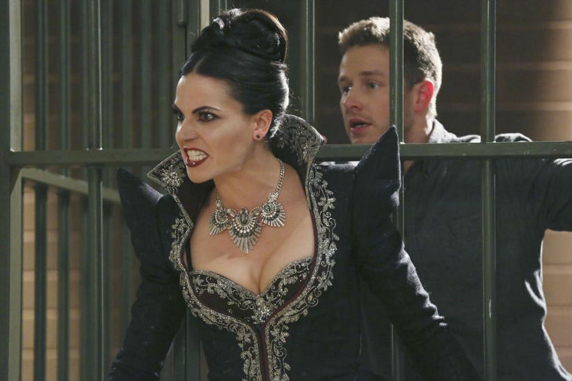 C'era una volta: Lana Parrilla e Josh Dallas in Shattered Sight