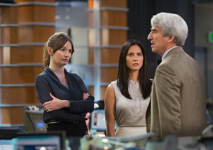 The Newsroom: Emily Mortimer, Olivia Munn e Sam Waterston in Oh Shenandoah