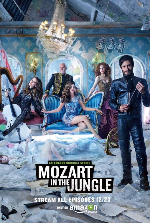 Mozart in the Jungle: un manifesto per la serie