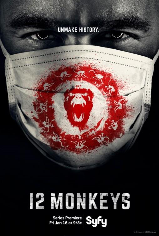 12 Monkeys: la locandina della serie