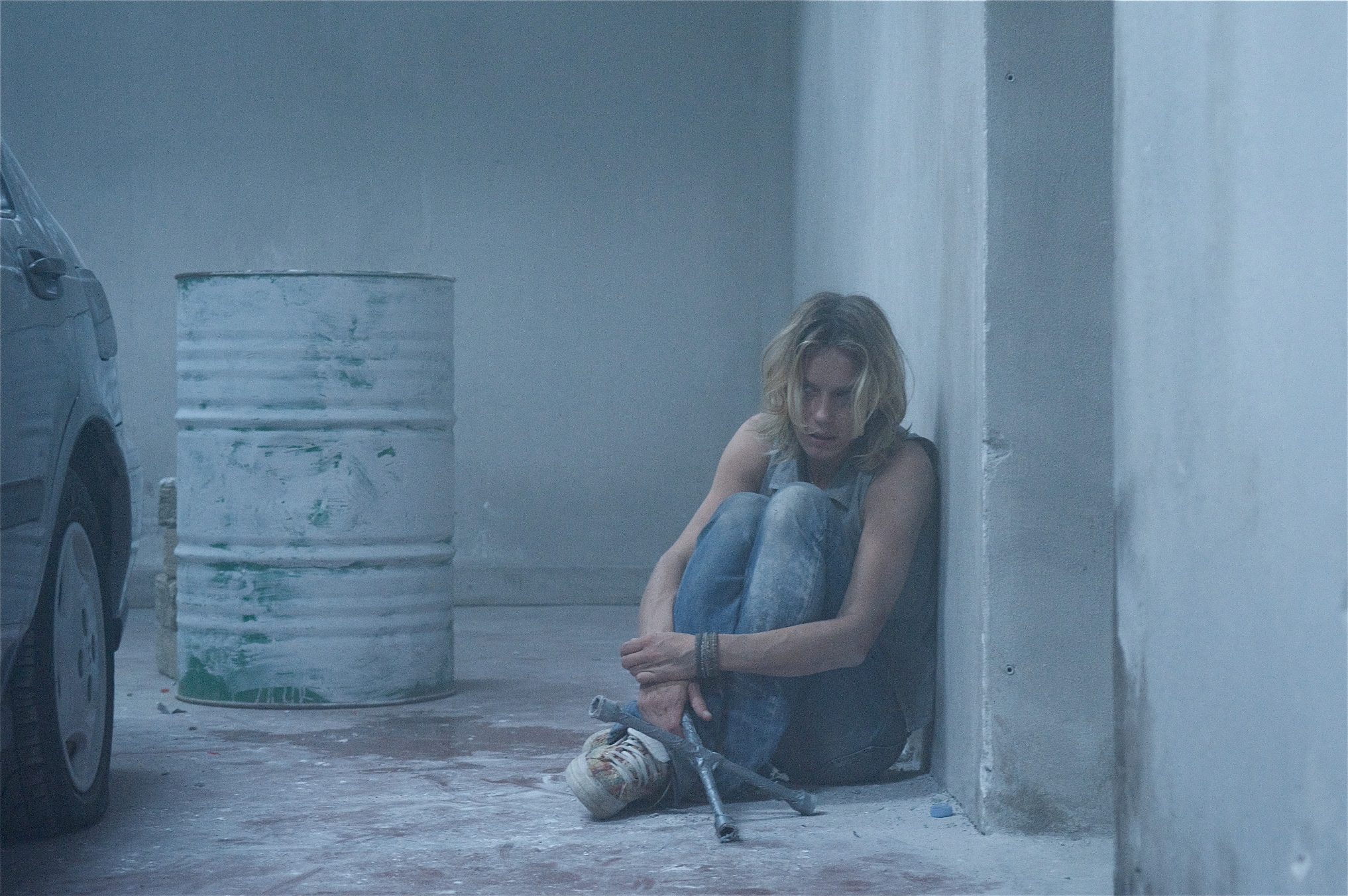 Antonia Liskova in una scena del film thriller 'In the Box'