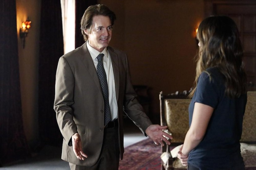 Agents of S.H.I.E.L.D.: Kyle MacLachlan e Chloe Bennet in What They Become