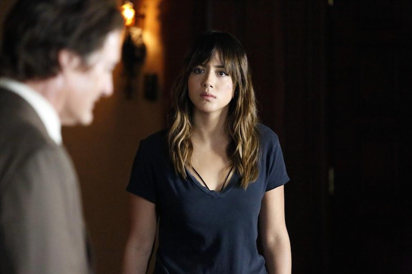 Agents of S.H.I.E.L.D.: gli attori Kyle MacLachlan e Chloe Bennet in What They Become