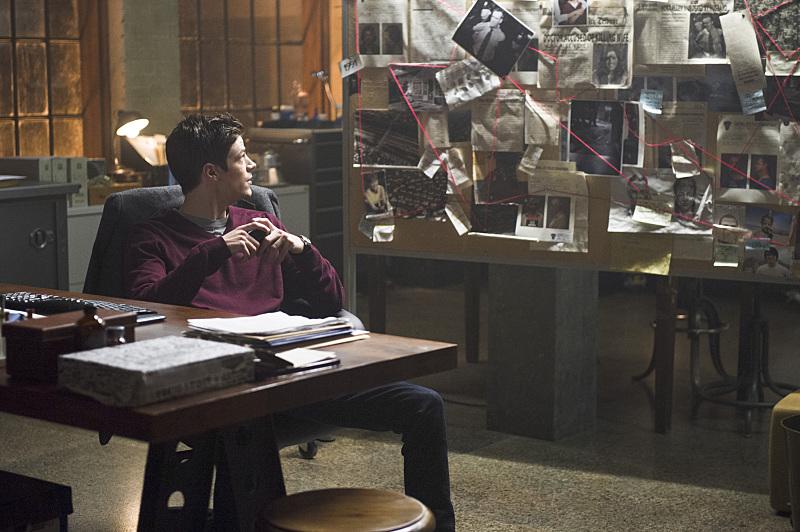 The Flash: l'attore Grant Gustin interpreta Barry Allen in The Man in the Yellow Suit