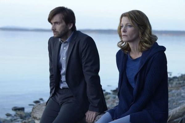 Gracepoint: i protagonisti David Tennant e Anna Gunn nel decimo episodio