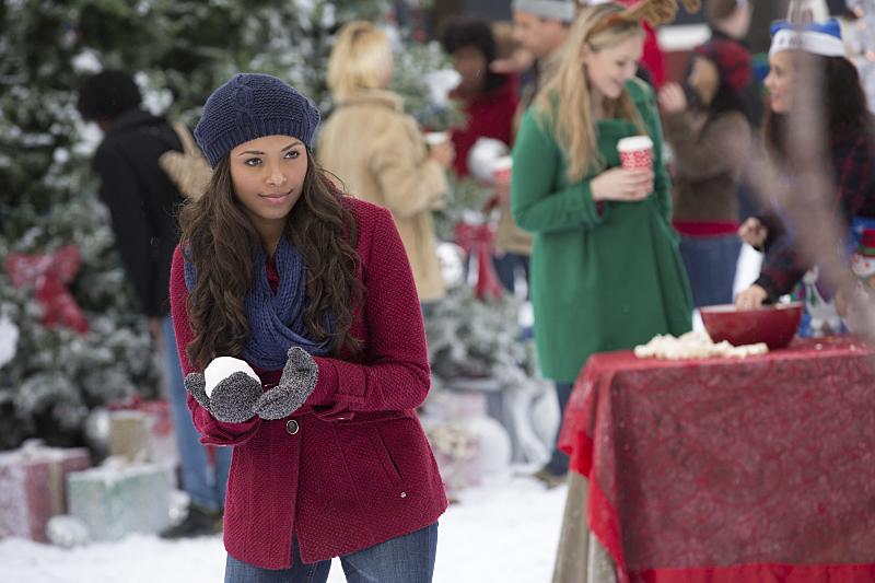 The Vampire Diaries: l'attrice Katerina Graham nell'episodio intitolato Christmas Through Your Eyes