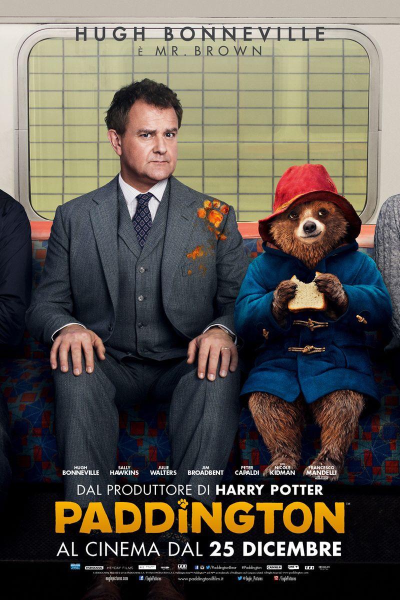 Paddington: Hugh Bonneville nel character poster italiano di Mr. Brown