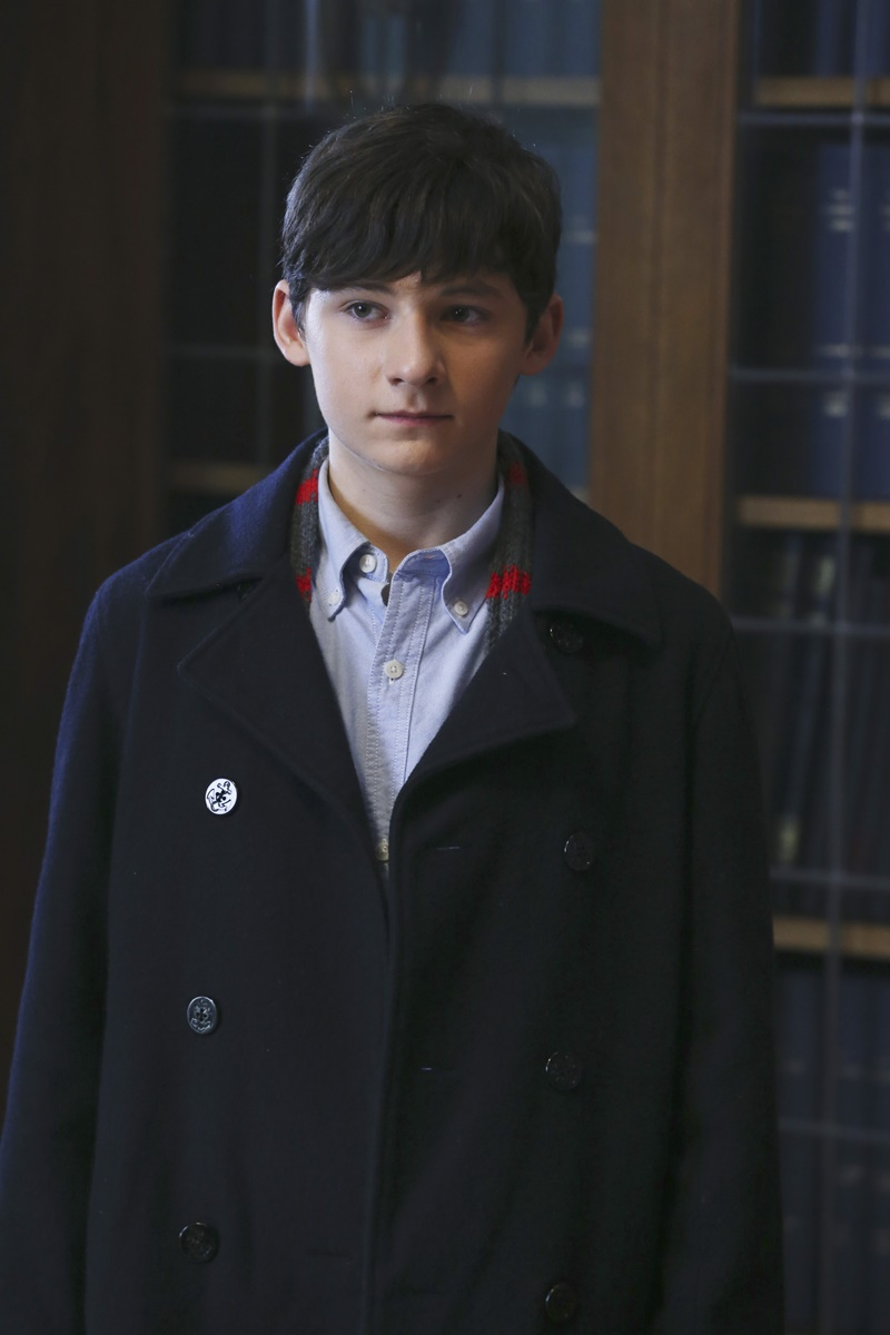 C'era una volta: Jared Gilmore interpreta Henry in Heroes and Villains