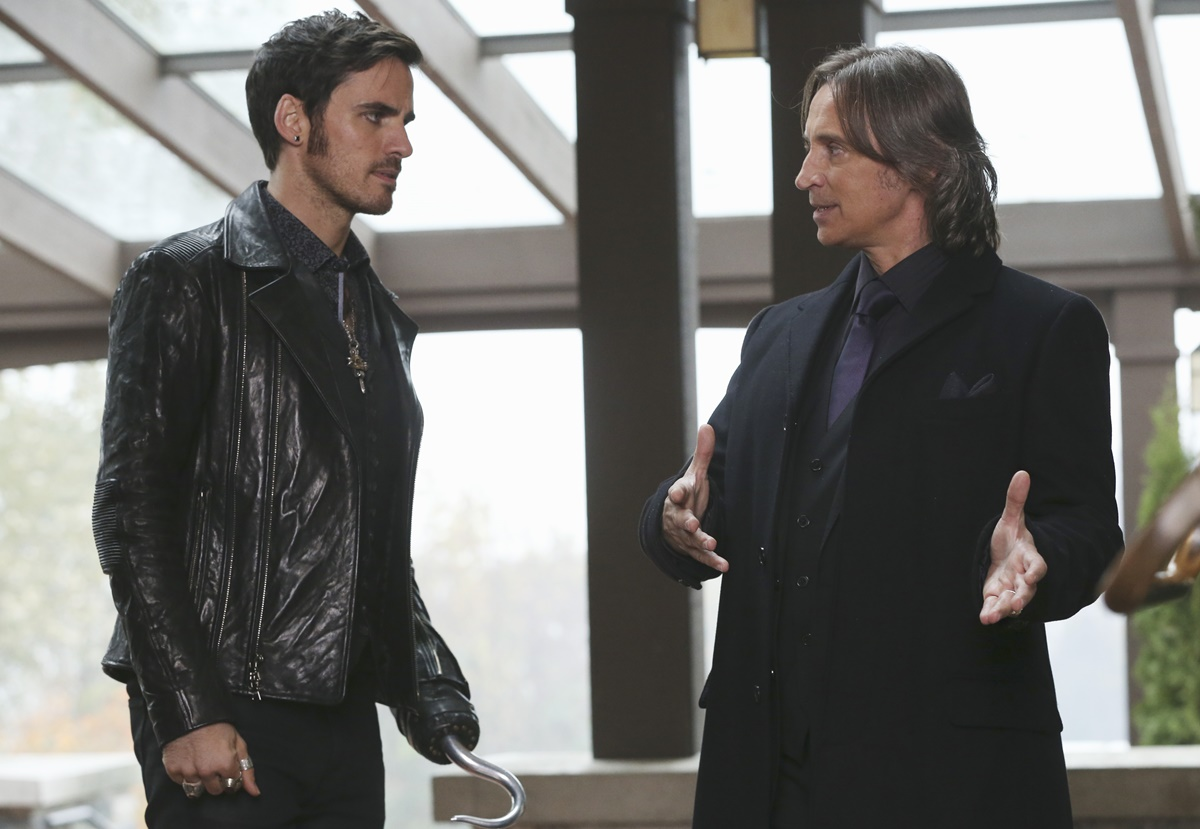 C'era una volta: Colin O'Donoghue e Robert Carlyle in Heroes and Villains