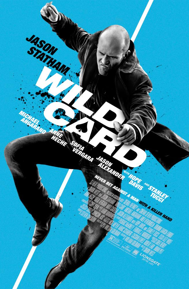 Wild Card: la locandina dell'action thriller