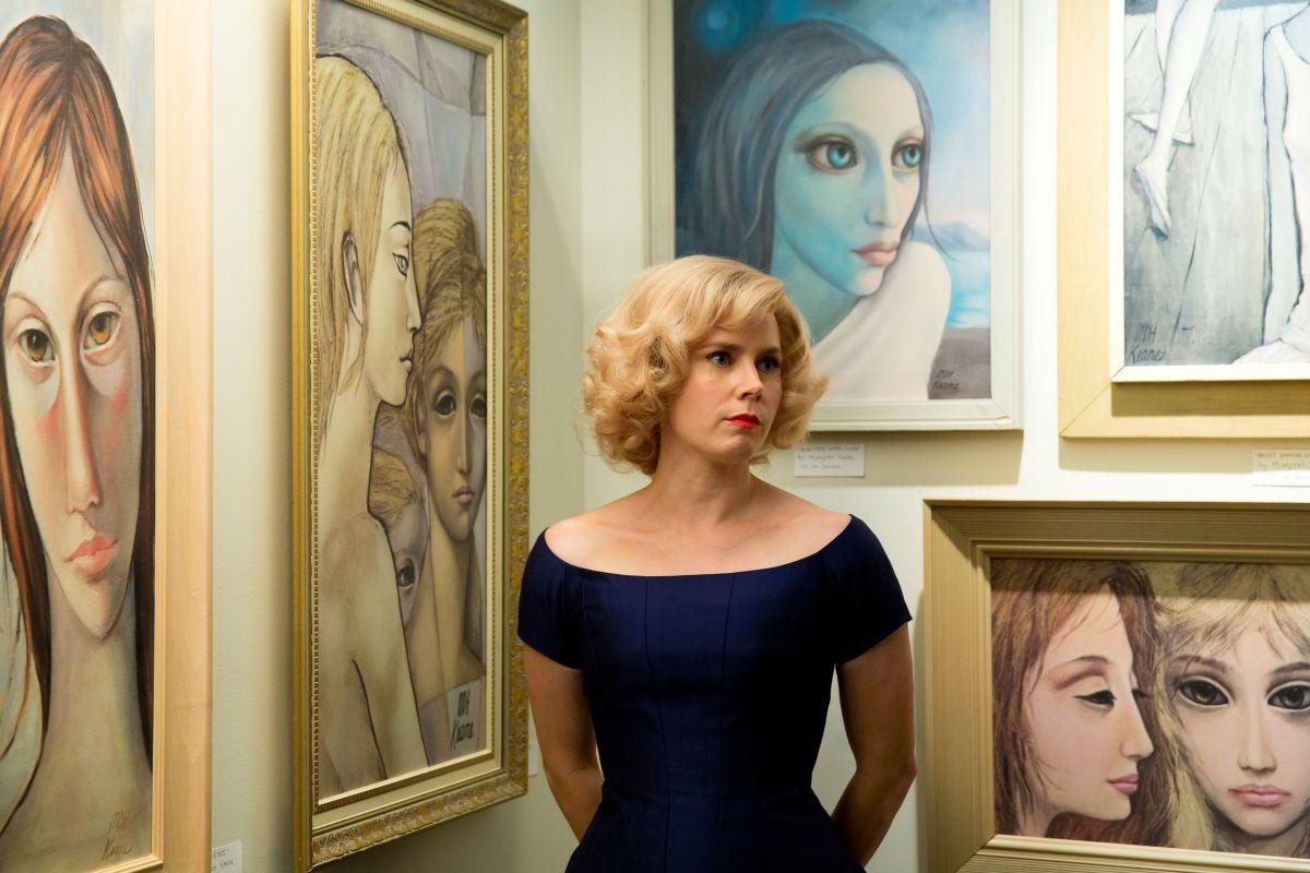 Big Eyes: Amy Adams in un'immagine del film di Tim Burton