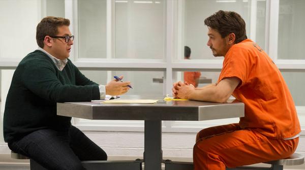 True Story: James Franco e Jonah Hill nel parlatorio del carcere