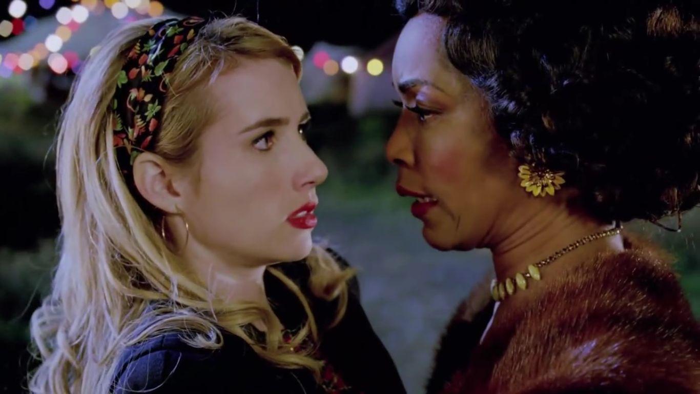 American Horror Story Freak Show: Emma Roberts e Angela Bassett in Orphans