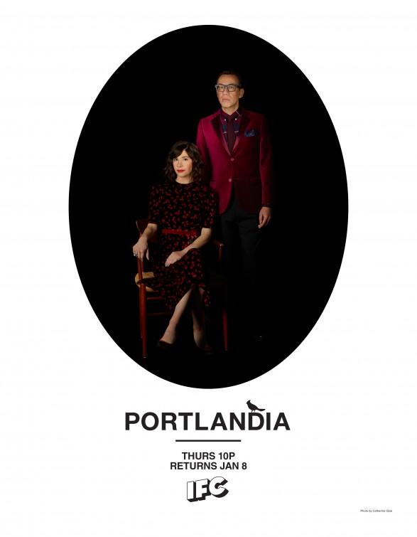 Un manifesto per la serie Portlandia