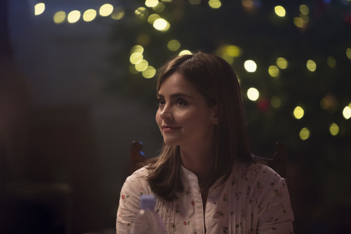 Doctor Who: l'attrice Jenna-Louise Coleman nell'episodio Last Christmas