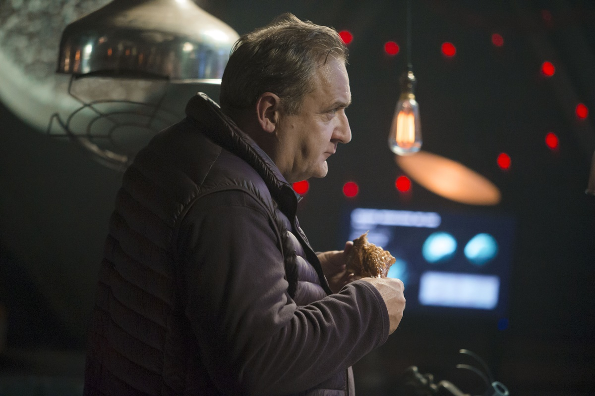 Doctor Who: l'attore Michael Troughton in Last Christmas