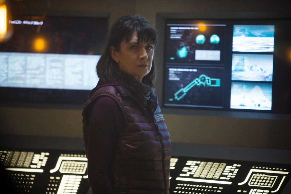 Doctor Who: Maureen Beattie in una scena di Last Christmas
