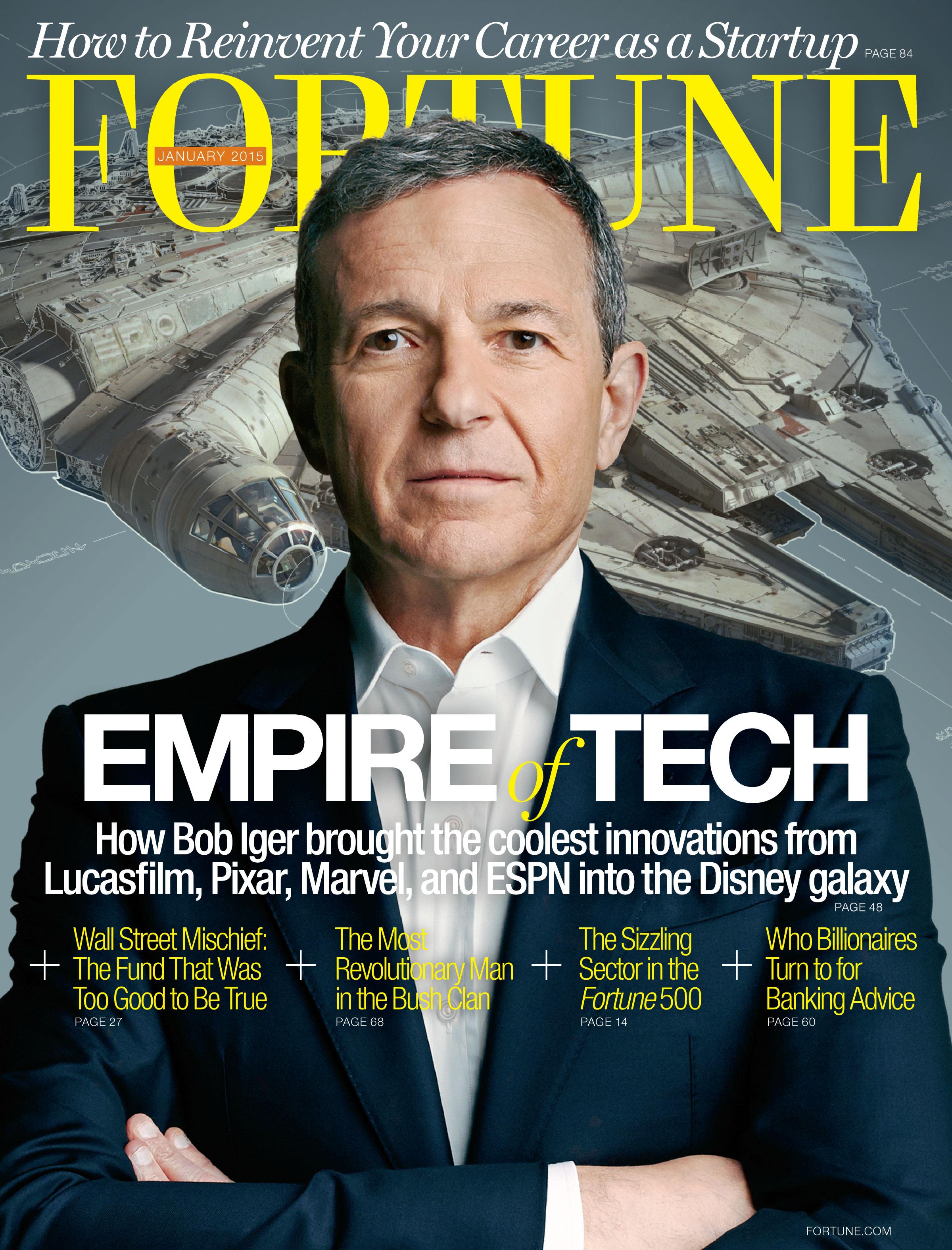Star Wars - il risveglio della Forza: Bob Igers sulla cover di Fortune
