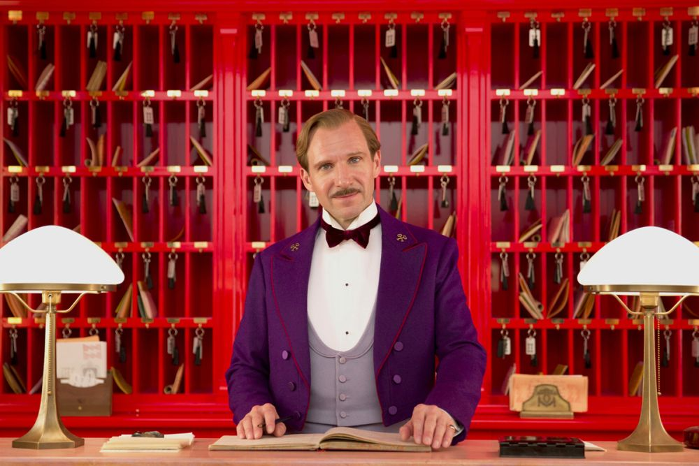 The Grand Budapest Hotel: il protagonista Ralph Fiennes