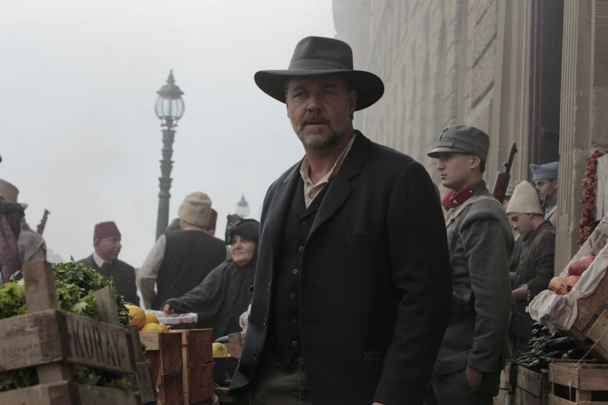 Russell Crowe in una scena di The Water Diviner