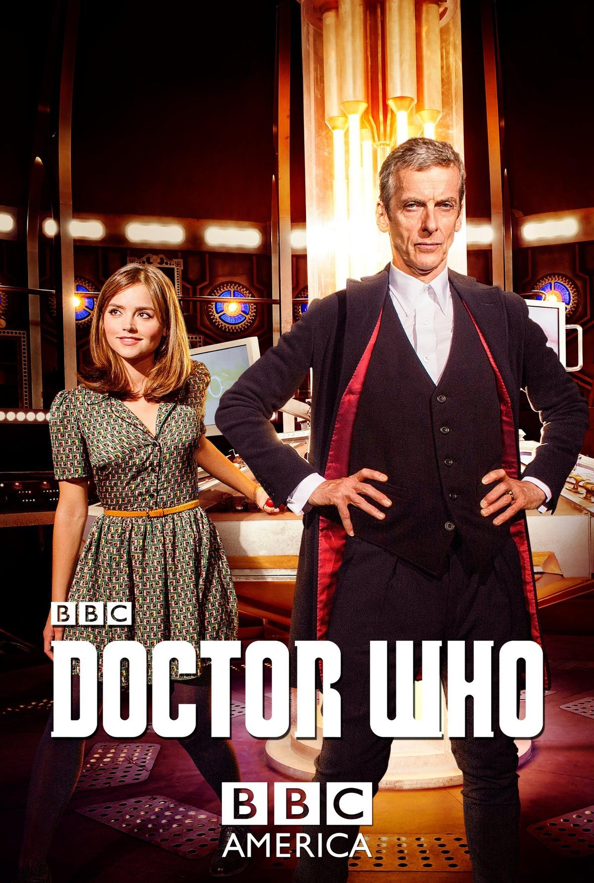 Doctor Who: una locandina per l'ottava stagione della serie sci-fi