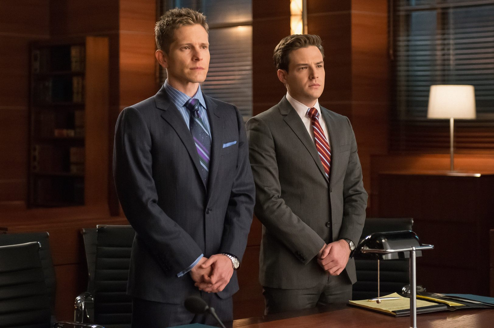 The Good Wife: Matt Czuchry e Ben Rappaport in Hail Mary
