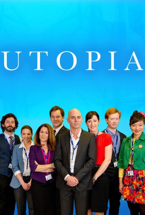 Utopia: un poster per la serie