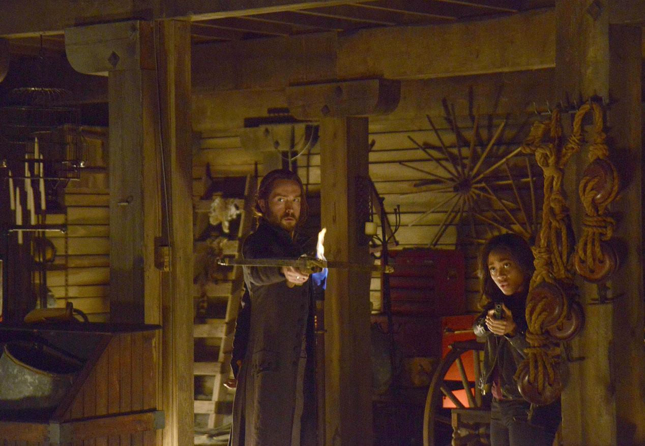 Sleepy Hollow: Tom Mison e Nicole Beharie in Paradise Lost