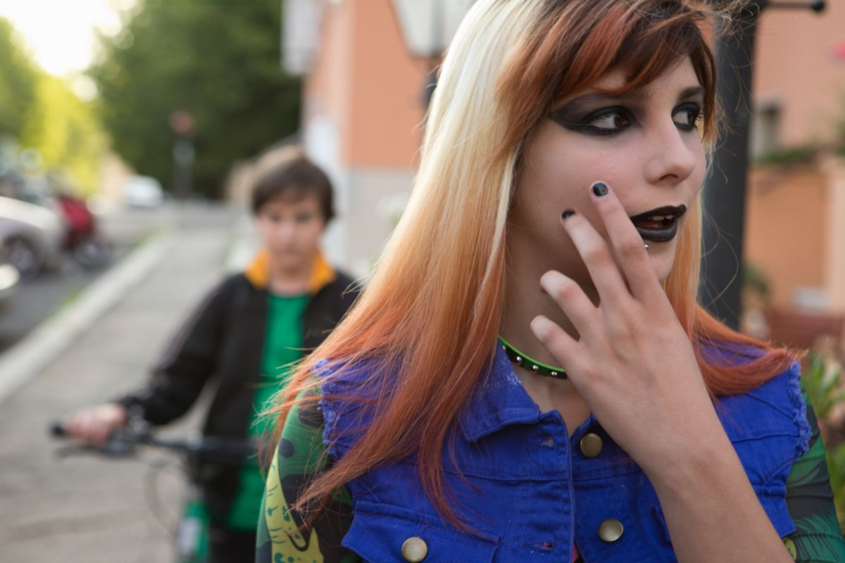 Banana: Beatrice Modica in una scena del film con Marco Todisco